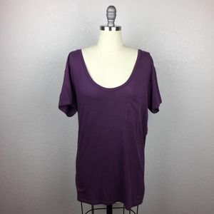 •American Eagle Outfitters• Purple Top